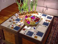 rectangular mosaic table tops - Google Search