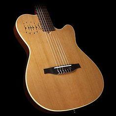 #guitar NEW Godin Multiac Nylon Encore Acoustic Electric Classical Guitar- Natural please retweet