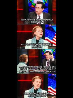 Julie Andrews is the Queen of Everything