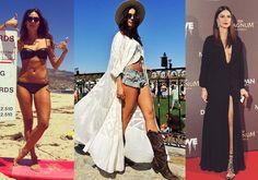 O estilo de Thaila Ayala na praia, no red carpet e no cotidiano