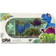 Vodní hra hlavolam s dinosaurem zelená Lego, Lunch Box, Bento Box, Legos