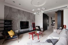 Red Minimalist Living Room Ideas & Inspiration to Make the Most of Your Space