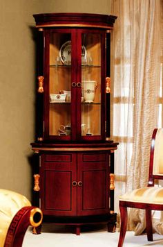French Country Cabinets | Small French Country China Cabinet by ...