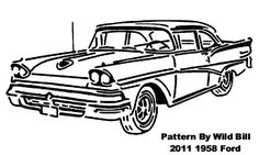 Ford 1958 - Transportation - User Gallery - Scroll Saw Village