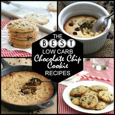 Craving the comfort of chocolate chip cookies without all the carbs? Check out these mouthwatering low carb, grain-free recipes. They will keep you coming back for more! keto recipes THM
