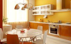 Una inteligente idea para combinar el blanco y el marrón, es usar otro color adicional. Puedes optar por el color maíz, un rojo vino o mostaza oscuro, ello le dará mayor modernidad a los interiores y permitirá que todos los colores combinen entre sí.
