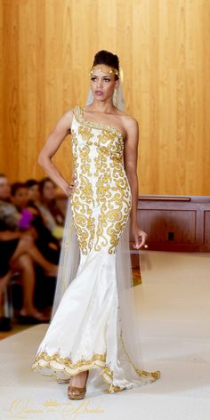 TeKay Designs presented Queen Of The Brides collection at the Haute Couture Fashion Show.