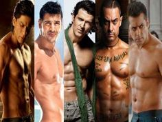 Mumbai: Bollywood clan is blessed to get to have some handsome and masculine hunks like Salman Khan, Hrithik Roshan, John Abraham, Akshay Kumar, Aamir Khan and Shahrukh Khan. These macho men have sexy physique as they proudly reveal their masculine bodies. Here is the list of few ready to pose