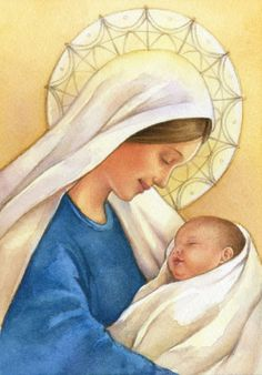 Behold thy Mother and Holy Queen!  Lisa Alderson - LA - Madonna And Child1
