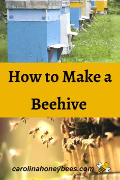 If you are wanting to build or make a beehive for yourself, that's great. But before you start building that first bee box - you have a few things to consider about bees and beekeeping. #carolinahoneybees #beehives #buildahive