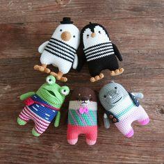 crochet pattern-hippoPDF/ENG