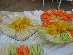 zanahoria y pepinos