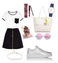 """Dressed up casual"" by nominjiguur on Polyvore featuring Acne Studios, Prada Sport and Kate Spade"