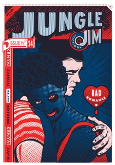 Jungle Jim, a bi-monthly African pulp fiction magazine founded by Jenna Bass and Hannes Bernard.