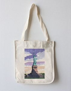 Tote Bag - Statue of Libert by VIDA VIDA IRucEh0qUX