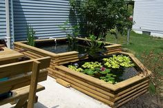 Koi ponds water gardens and yard makeover on pinterest for Above ground koi ponds for sale