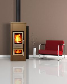 Walltherm Zebru Insulated Steel, Walltherm Insulated, Walltherm Log gasification boiler stoves. Walltherm stoves UK