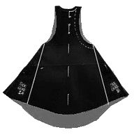 Sideless surcote pattern and how-to. Costume Viking, Medieval Costume, Renaissance Clothing, Medieval Fashion, Historical Costume, Historical Clothing, Clothing Patterns, Sewing Patterns, Medieval Dress Pattern