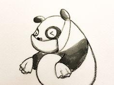 2014.2.20 【一日一大熊猫】 花粉シーズン到来かな。 基本的に自然治癒は期待できないんだって。