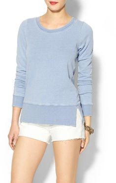 Love this: French Terry Sweatshirt @Lyst
