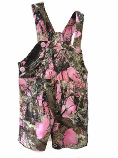 Southern Sisters Designs - Pink Camouflage Baby Overalls, $15.95 (http://www.southernsistersdesigns.com/pink-camouflage-baby-overalls/)