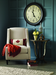 932aa5041703 Add a little dimension for a dramatic accent wall. All you need is some 2