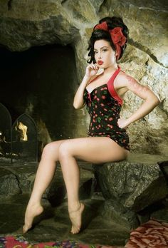 Super Cute Pin-up Girl Clothing!