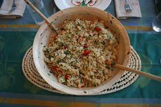 Quinoa Tabouli with Mint, Parsley, and Preserved Lemons