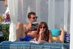 Jamie Dornan and Dakota Johnson Get Intimate on the Beach for 'Fifty Shades Freed'
