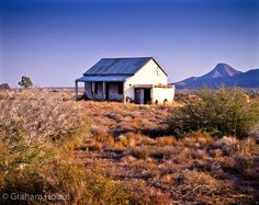 another abandoned farmhouse of the Great Karoo. Graham Hobbs
