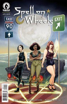 Spell on Wheels #1 :: Profile :: Dark Horse Comics