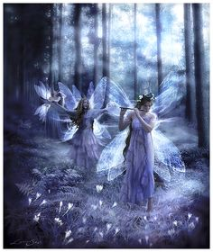 ✯ Night Fairy Song .. By =GingerKellyStudio✯