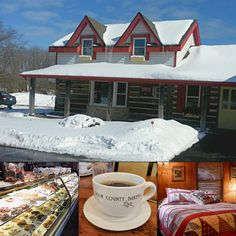 The cozy guest suite above Door County Bakery has the makings of an unforgettable Wisconsin cabin stay, close to some of the state's best agritourism. Contact the owners directly for booking: #doorcounty #bookdirect #travelwi #itscabintime