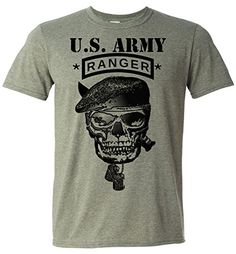 Army Rangers T-shirt US Army Special Forces Green Tee Military II (X-Large) Rancid Nation http://www.amazon.com/dp/B01BQURXWK/ref=cm_sw_r_pi_dp_bZo6wb0HWNK8J