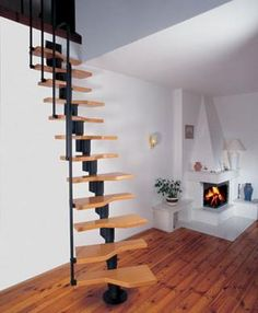 Attic Staircase | All attic stairs can be divided into two types: folding - with the ...