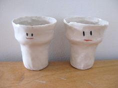 face cups by kirsten perry