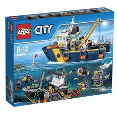 Lego 60095, Buque de Exploración Submarina. Recomendado a partir de 8 años. 717 Piezas.