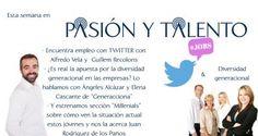 ¿Es Twitter un vía útil para encontrar empleo? con @alfredovela