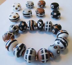 FREE Polymer Clay Tutorials : 5 Color Beads  - Silas Stone