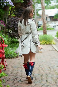 trench coat, denim s