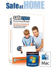 Safe Eyes Internet Filter protects your family from harmful online content and keeps you informed of all web activities.