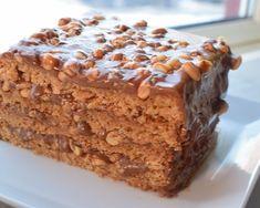 Snickerskake - noe av det beste jeg vet!   Gladkokken Food Cakes, Snickers Muffins, Cookie Recipes, Dessert Recipes, Norwegian Food, Types Of Cakes, Pudding Desserts, Let Them Eat Cake, Cheesecakes