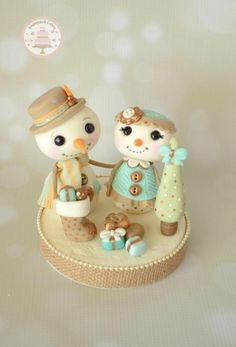 Snow People by Sugarpatch Cakes