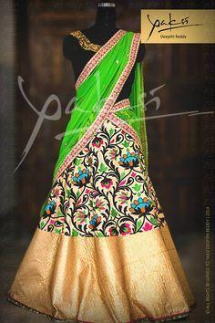 Printed half saree                                                                                                                                                                                 More