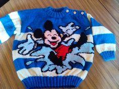 mickey mouse lu orgu modelleri (3)