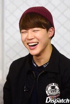 JIMIN's smile :)