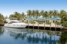 3BR/4.2BA/3CG/104' waterfront home for sale in Fort Lauderdale.  Listed for $1,850,000.