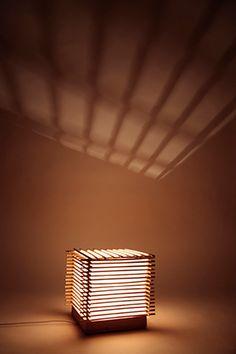 Chopstick lamp