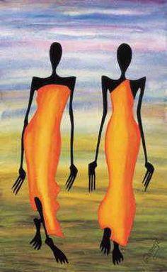 African American Art By Wak | Gakonga Art
