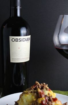2012 Obsidian Ridge Cabernet, an excellent cab from the volcanic Lake County soils of the Mayacamas Range. Keep in mind next time you are looking for a good wine for a meal featuring beef! Wine Recipes, Beef Recipes, Cooking Recipes, Recipies, Malbec Wine, Cabernet Sauvignon, Wine Case, Time To Eat, Melted Cheese